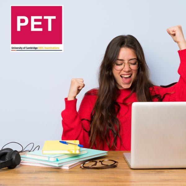 curso gratis ingles B2 PET